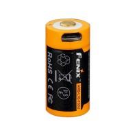 Акумулятор 16340 FENIX ARB-L16 700U, з USB-портом, 700mAh