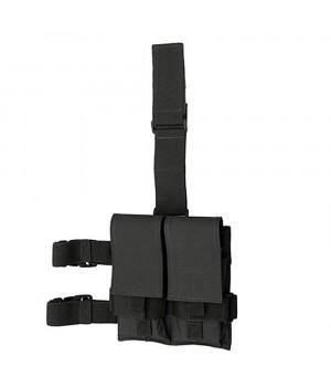 Подсумок для магазинов M4/AK74 - двойной, набедренный