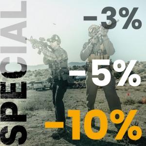 Гарантована знижка від 3% до 10%