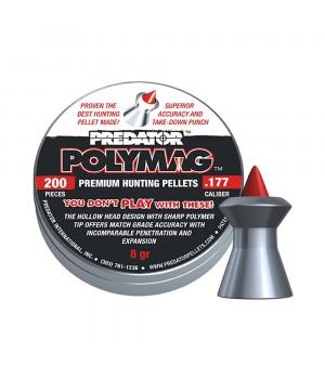 Кулі JSB Predator Polymag - кал. 4.5 мм, 0.52 г, 200 шт.