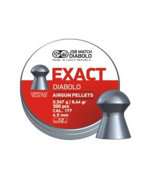 Кулі JSB Diabolo Exact - кал. 4.5 мм, 0.547 г, 500 шт.