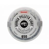 Кулі ЛЮМАН круглоголові - кал. 4.5 мм, 0.45 г, 650 шт.