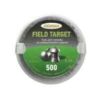 Пули ЛЮМАН Field Target круглоголовые - кал. 4.5 мм, 0.55 г, 500 шт.