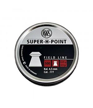 Кулі RWS Super-H-Point - кал. 4.5 мм, 0.45 г, 500 шт.