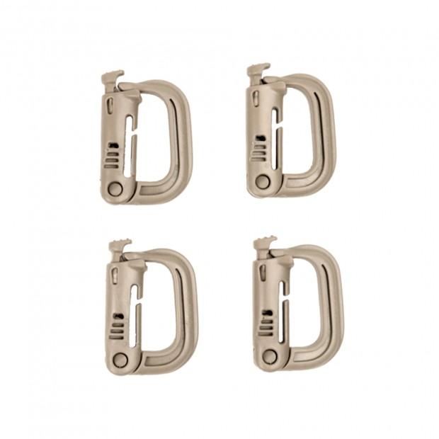 Карабины D-RING type Locking System