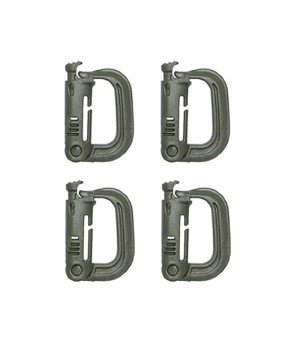 Карабіни D-RING type Locking System
