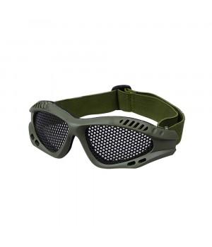 Окуляри-маска AIRSOFT зі сталевою сіткою
