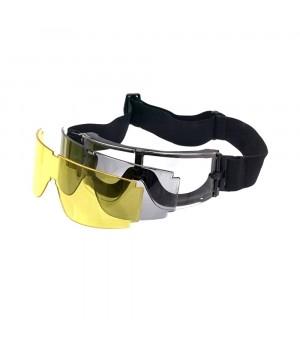 Окуляри-маска GX-1000 с 3-ма змінними лінзами