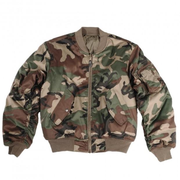 Куртка MA1 - камуфляжна