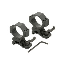 Кільця для оптики, ø-30 мм, на Weaver/Picatinny - швидкоз'ємні
