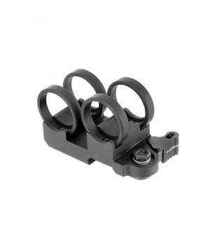 Кріплення (моноблок) для ЛЦВ і ліхтаря, ø-25.4 мм