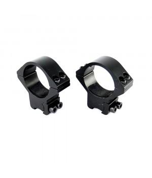 Кольца для оптики ø-30 мм, на ласточкин хвост - низкие