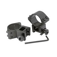 Кільця для оптики ø-30 мм, на Weaver/Picatinny - високі
