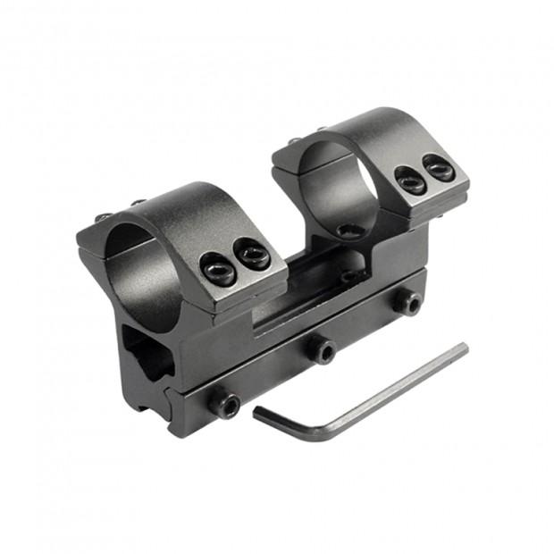 Кріплення (моноблок) для оптики, ø-25.4 мм, h-50 мм, на ластівчин хвіст