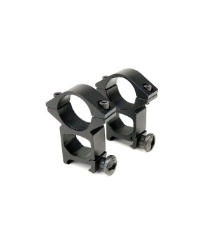 Кольца для оптики, ø-25.4 мм, на Weaver/Picatinny - высокие