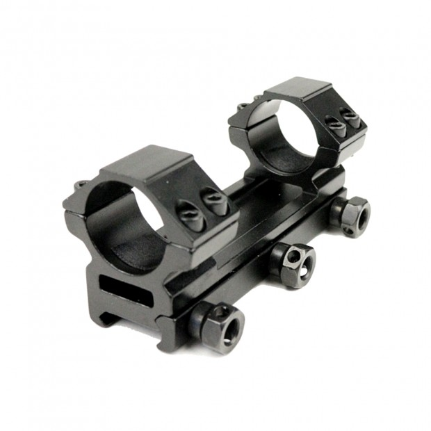 Кріплення (моноблок) для оптики, ø-25.4 мм, h-46 мм, на Weaver/Picatinny